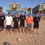 Árbitros de fútbol playa 2015