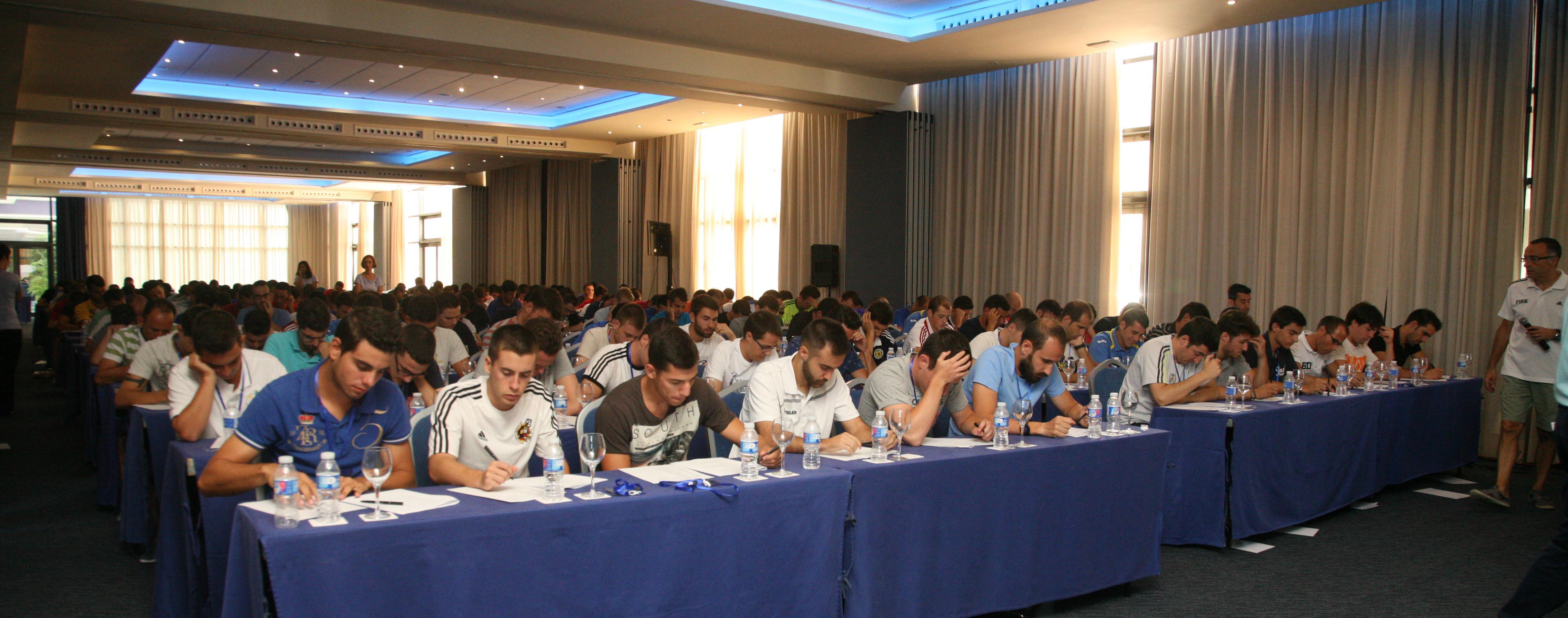 Exámenes convención Agosto 2015