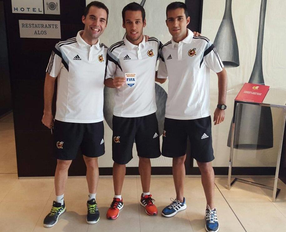Nuevos árbitros FIFA 2016