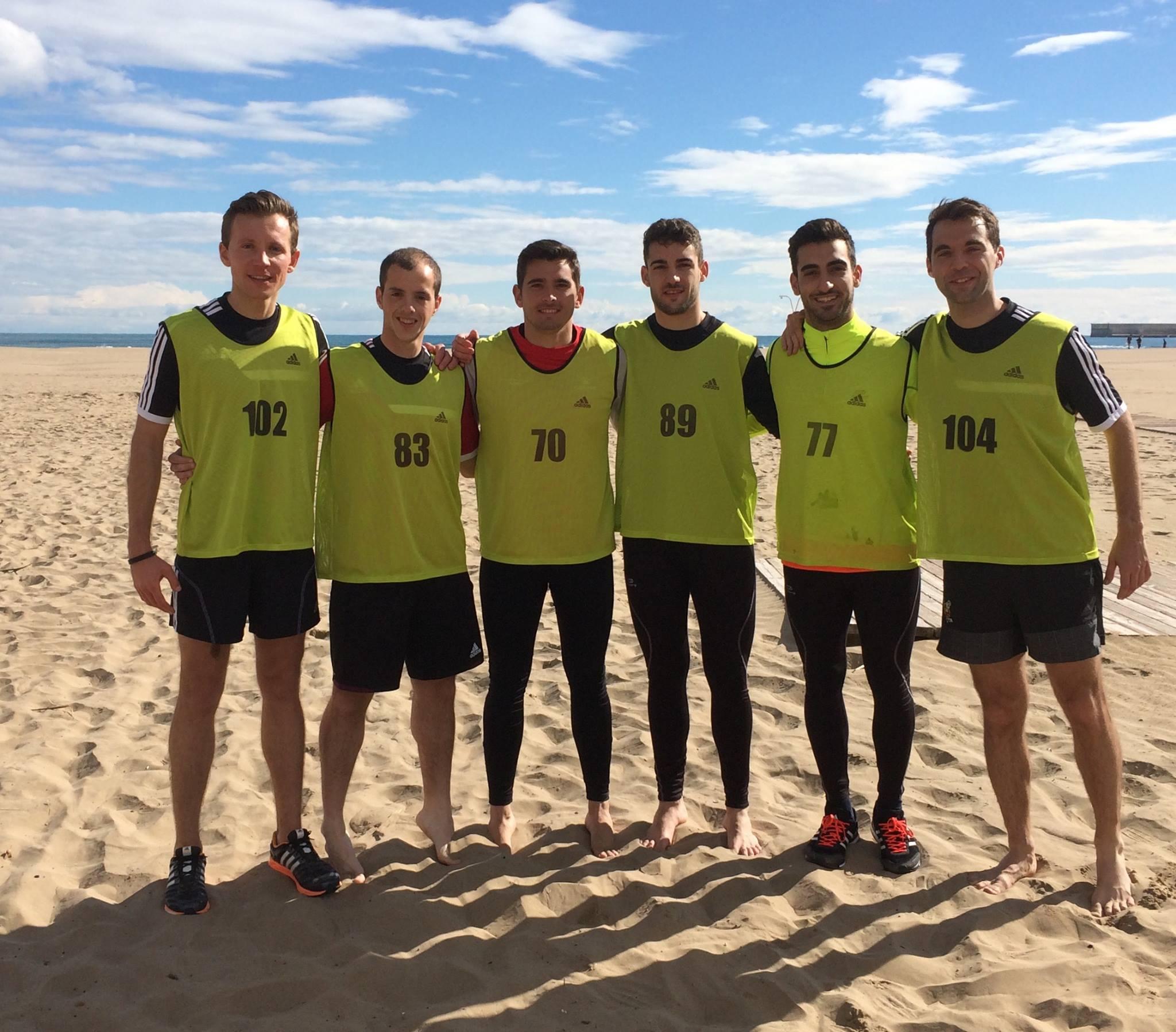 Árbitros de fútbol playa de Valencia (2016)