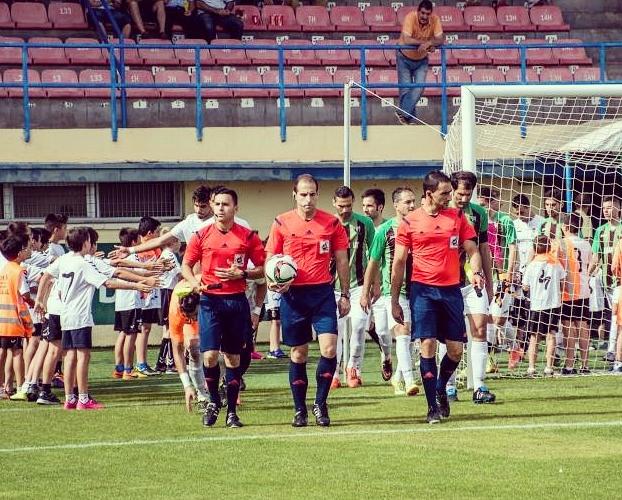 UB Conquense – Jerez CF: Francesc Bañó Solera, Javier García Lorenzo y José Miguel Carballa Miñana