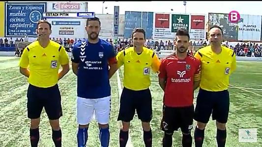 Mar Menor CF – SD Formentera: Nicolás Garcelán Docio, Carlos Huguet Julia y Ángel Monzón Domingo