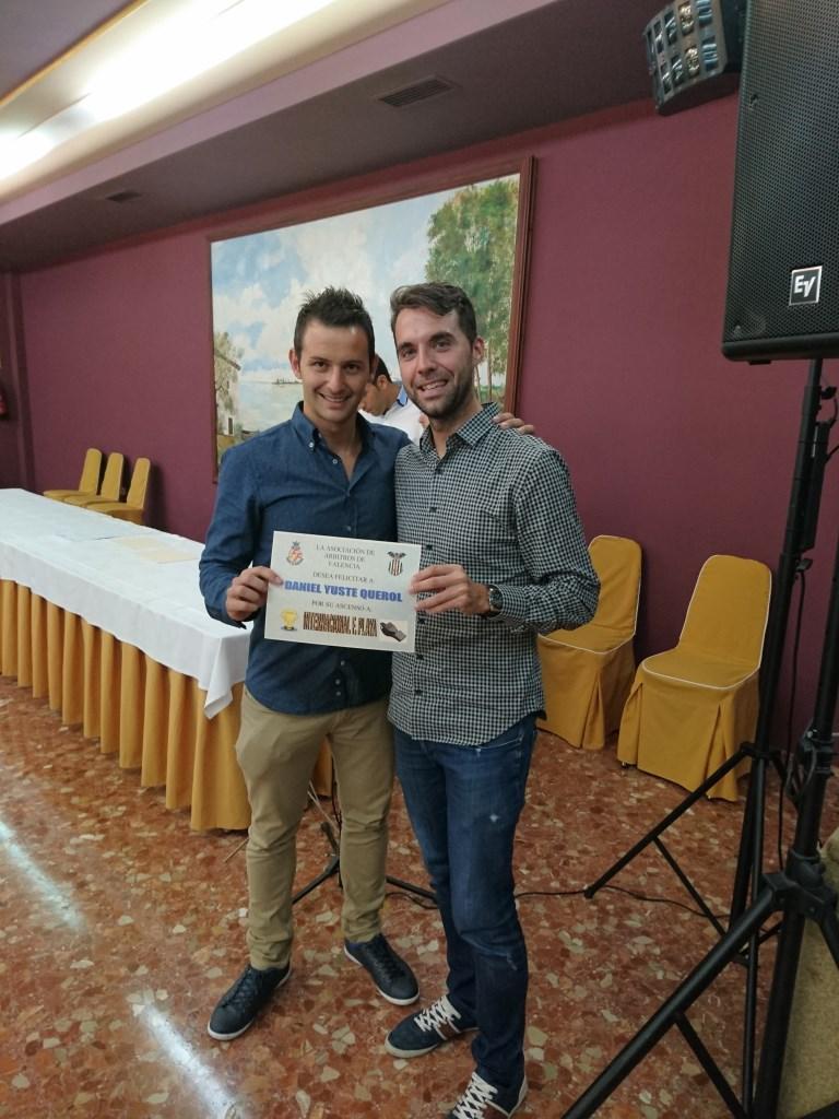 Entrega de premios. Cena Asociación 2016