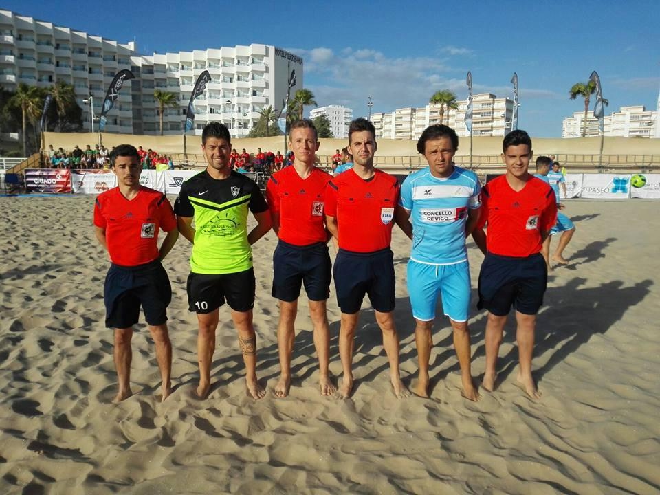 Yuste y Nizhelovskiy (Fútbol Playa)