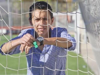 Tatiana Comino, pasión por el fútbol y el arbitraje
