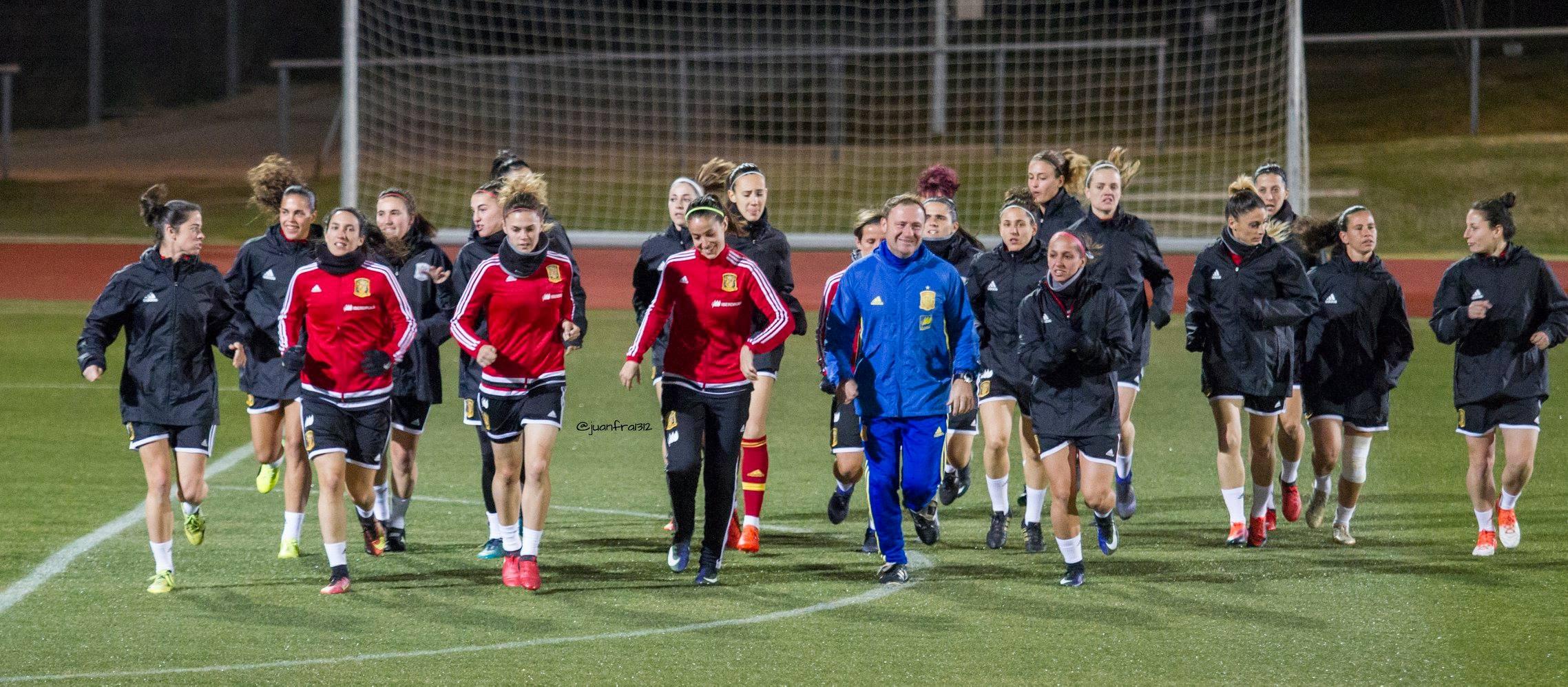 Entrenamiento Selección Femenina Enero 2017