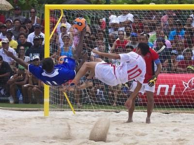 Curso para nuevos árbitros de fútbol playa