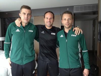 Dos árbitros valencianos en el Mundial Sub-20 (Corea)