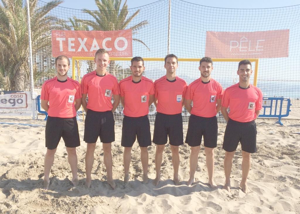 LNFP 2017 - árbitros CTA Valenciano