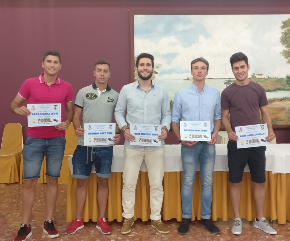 Cena 2017 - Ascensos a 2ª Regional