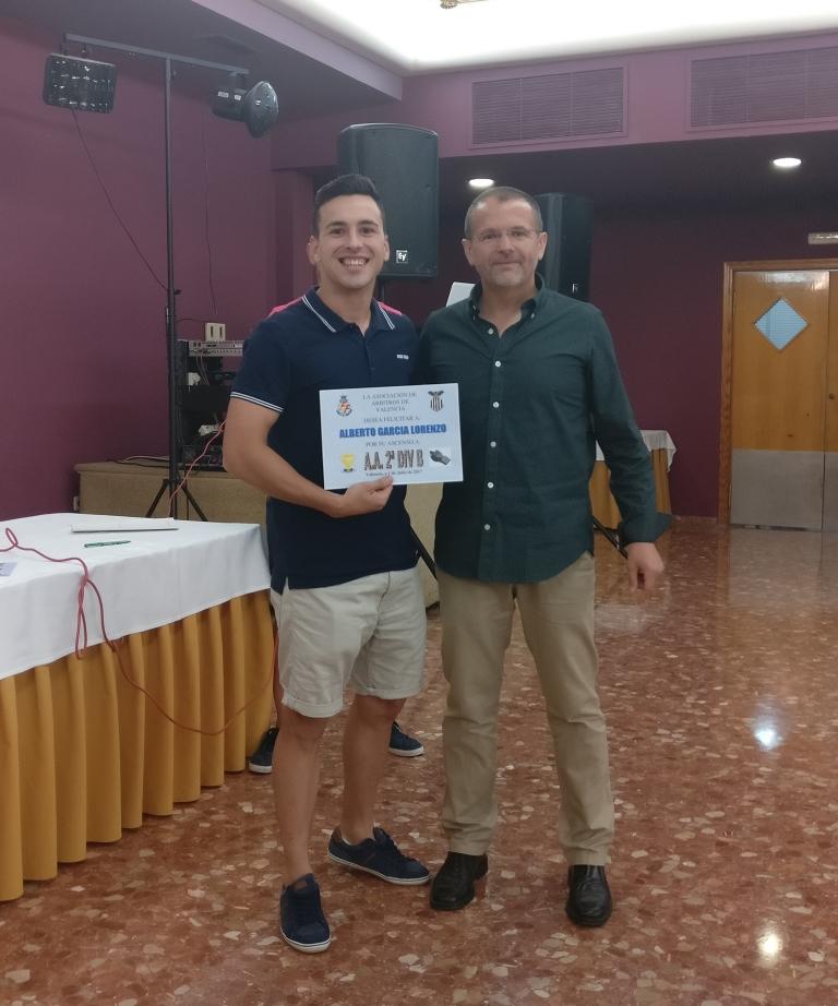 """Cena 2017 - Ascenso a árbitro asistente de 2ª División """"B"""""""