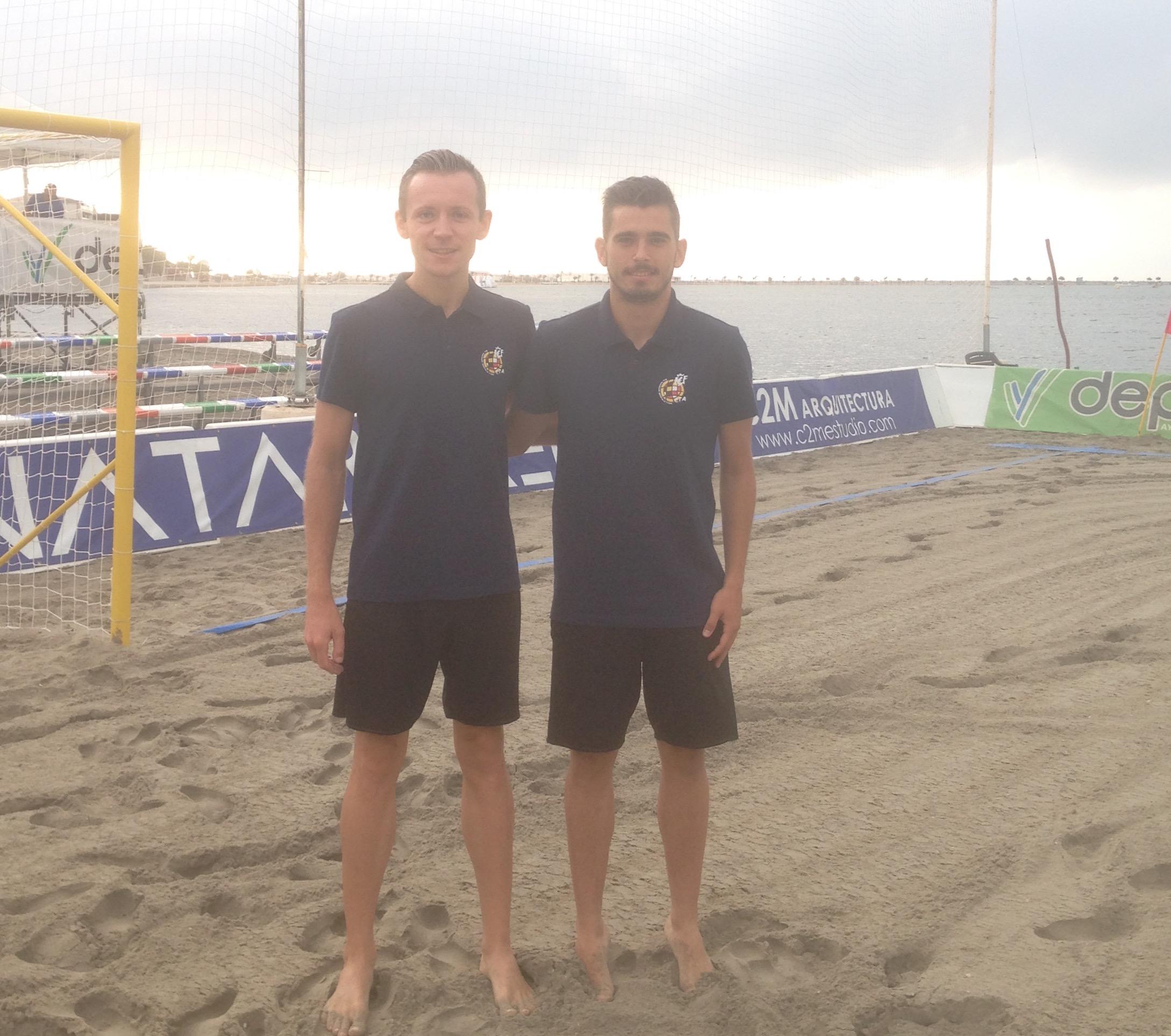 Álvaro Cánovas y Sergiy Nizhelovskiy