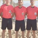 Árbitros valencianos en los torneos de fútbol playa