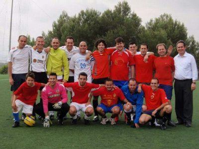 Torneo de fútbol entre árbitros