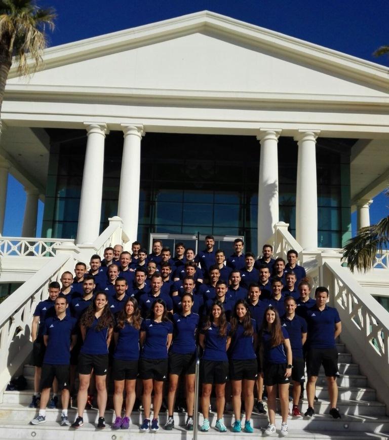 Árbitros del curso de Fútbol Playa (Valencia 2018)