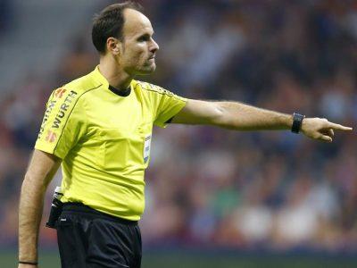 Mateu Lahoz en la Final de Champions