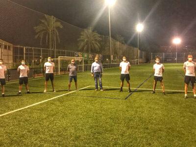 Pruebas físicas de árbitros de 1ª y 2ª División