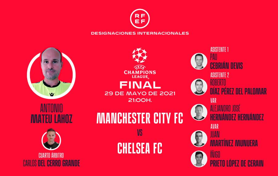 Designación Final UEFA Champions League
